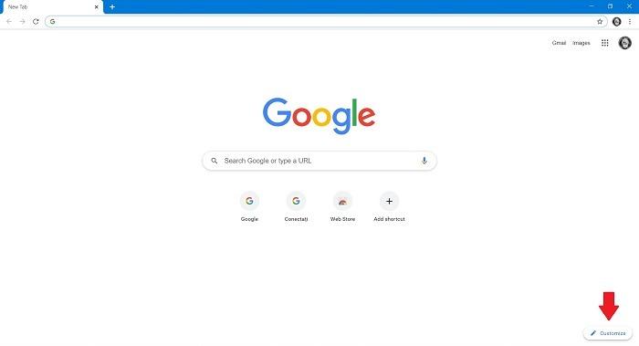 गूगल सर्च बैकग्राउंड क्रोम डेस्कटॉप को कैसे बदलें
