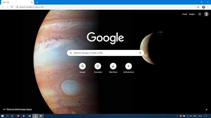 Google खोज पृष्ठभूमि कैसे बदलें क्रोम डेस्कटॉप