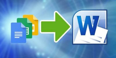 How To Convert From Google Docs To Microsoft Word Feature