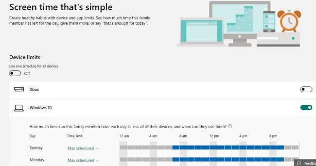 विंडोज 10 स्क्रीन टाइम में माइक्रोसॉफ्ट फैमिली सेफ्टी फीचर्स कैसे सेट करें