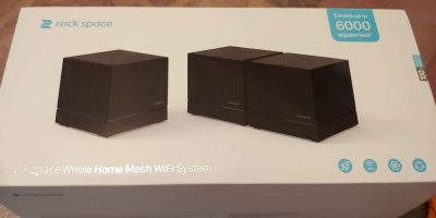 Rock Space Whole Home Mesh Wifi System Review