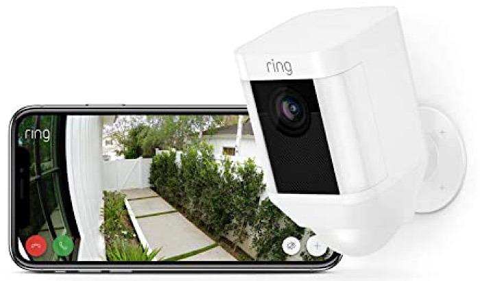 Deal Ring Spotlight Cam Phone