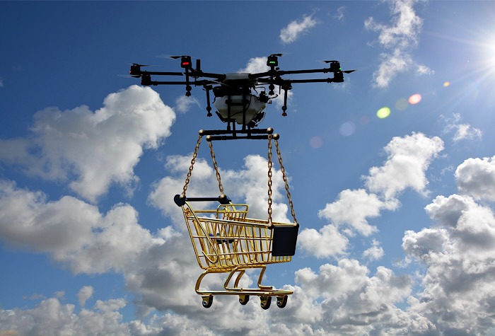 Pengiriman Drone Faa Cart