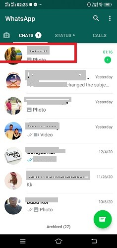 Hide Texts Calls Whatsapp Added Contact