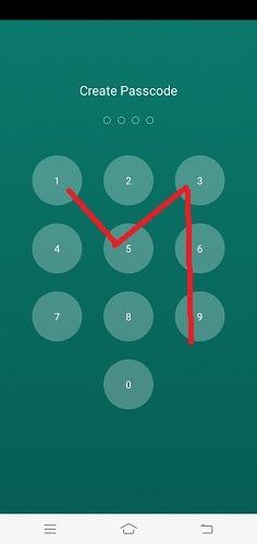 Hide Texts Calls Whatsapp Passcode Reentered