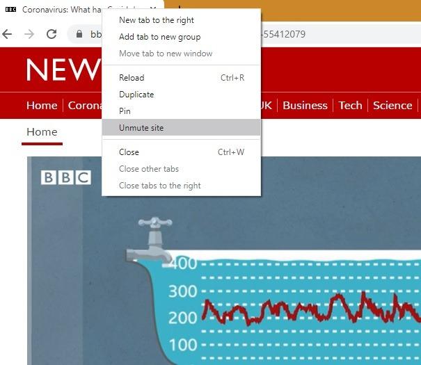 Matikan Suara Peramban Google Chrome