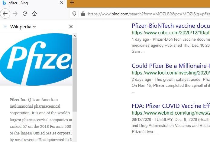 Sidebar Cari Firefox Wikipedia