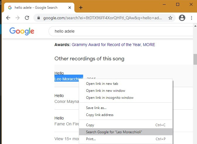Pencarian Sidebar Google Chrome Edge