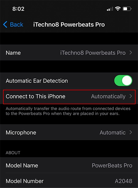 Switch Airpods Between Devices Connect Option 2