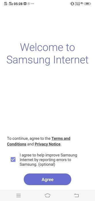 Uc Browser Alternatif Samsung Internet