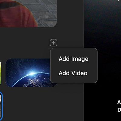 Zoom Latar Belakang Virtual Tambahkan Gambar