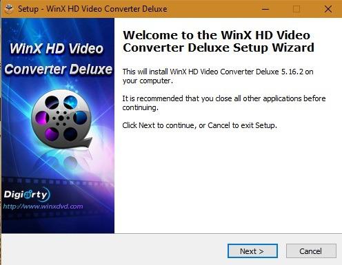 Winx Free Setup Wizard