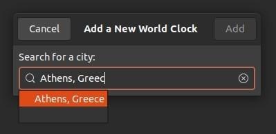 Periksa Waktu Dengan Jam Gnome Tidak Tambah Tempat