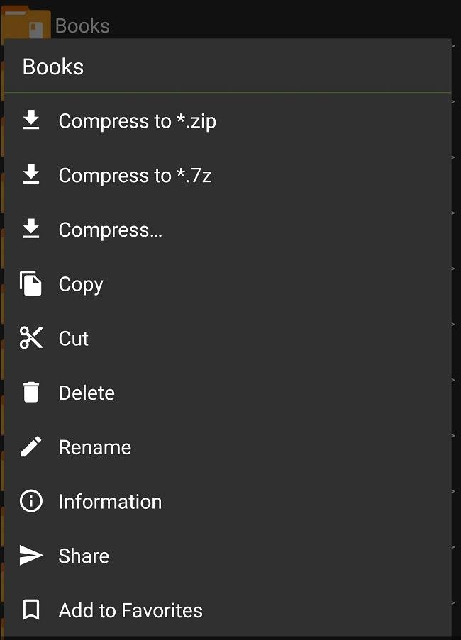 Kompres Dan Ekstrak File Di Android Dengan Folder Zarchiver