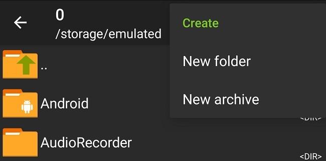Kompres Dan Ekstrak File Di Android Dengan Zarchiver Baru