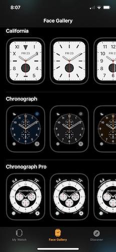 Temukan Semua Galeri Wajah Apple Watch