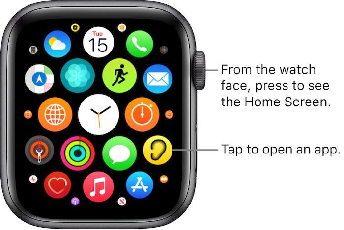 Temukan Semuanya Apple Watch Temukan Aplikasi