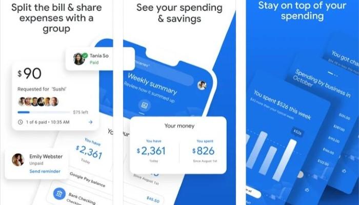 Ikhtisar Pengeluaran Google Pay Track 1