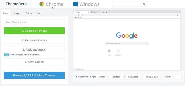 Cara Mengubah Warna Dan Tema Di Chrome Creator