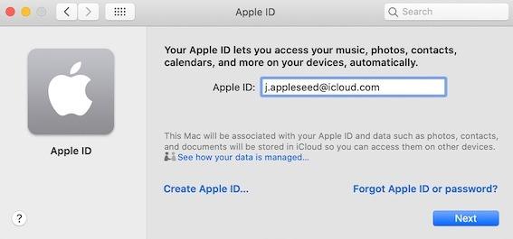 كيفية تسجيل الدخول إلى Icloud Macos