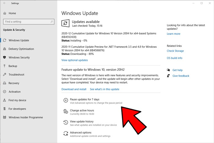 How To Stop Disable Windows 10 Updates Pause
