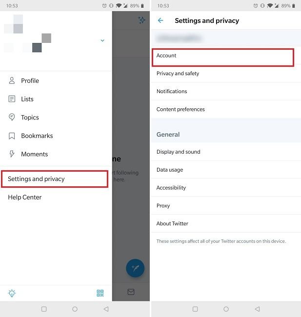 How To Two Factor Authentication Twitter Mobile Settings Privacy Account