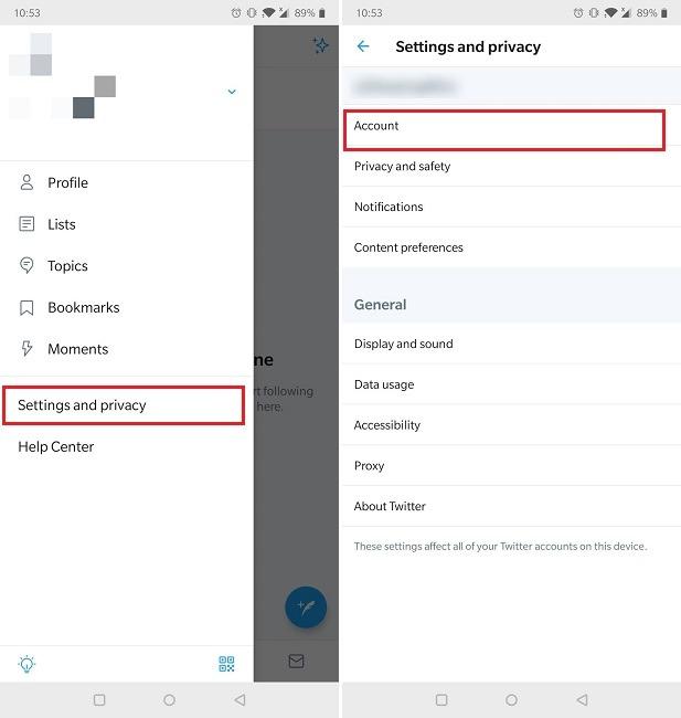 Cara Otentikasi Dua Faktor Akun Twitter Pengaturan Seluler Privasi