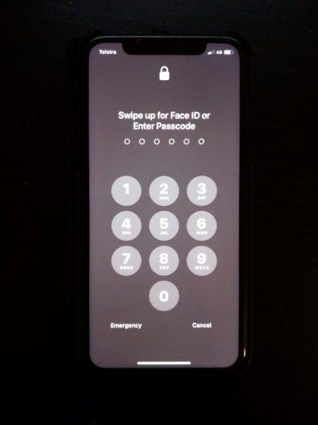 Ios Faceid Notworking Unlockscreen