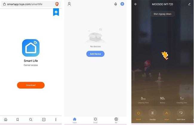 Moosoo Mt 720 Robot Vacuum Cleaner Review App