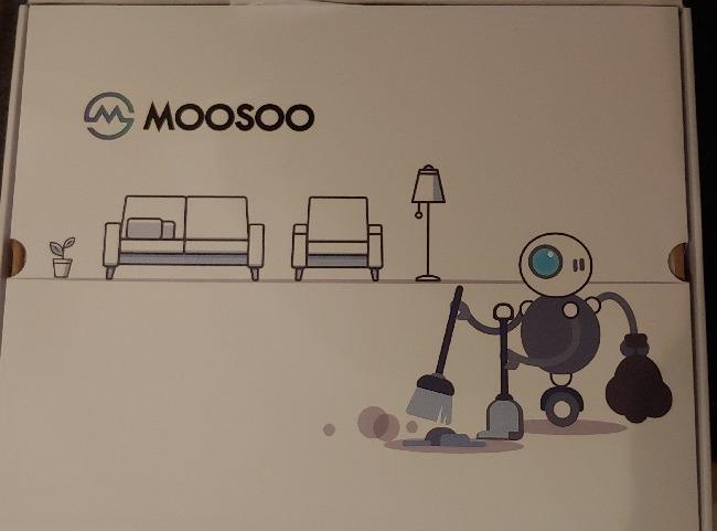 Ulasan Tinjauan Tentang Moosoo Mt 720 Robot Vacuum Cleaner