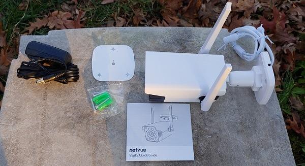Kotak Review Kamera Keamanan Luar Ruangan Netvue Vigil 2