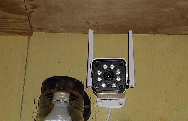 Tinjauan Umum Tinjauan Kamera Keamanan Luar Ruangan Netvue Vigil 2