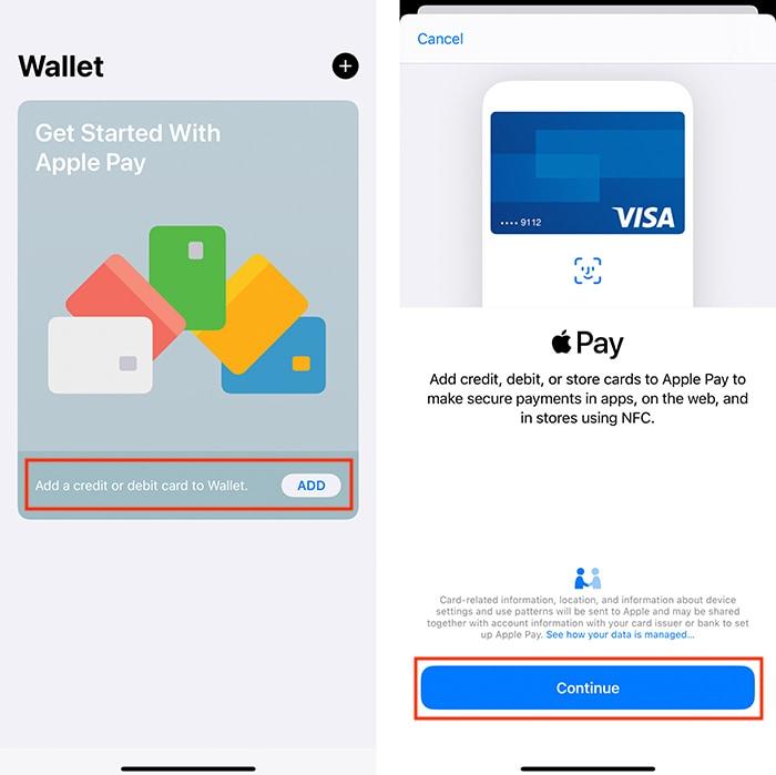 Siapkan Aplikasi Apple Pay Iphone Wallet