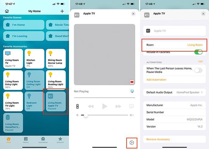 قم بإعداد Home Theatre Audio Apple Tv Homepod Home App Iphone