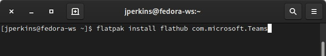 Tim Pada Perintah Linux Flatpak