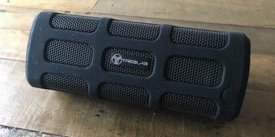 The Treblab Bluetooth speaker