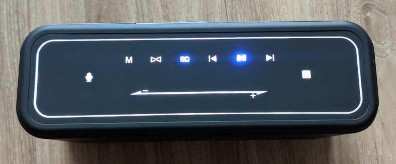 Tombol Speaker Tronsmart Mega Pro