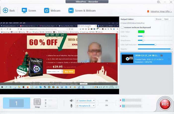 Rekam Videoproc 2