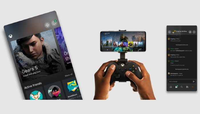 Dasbor Xbox Remote Play