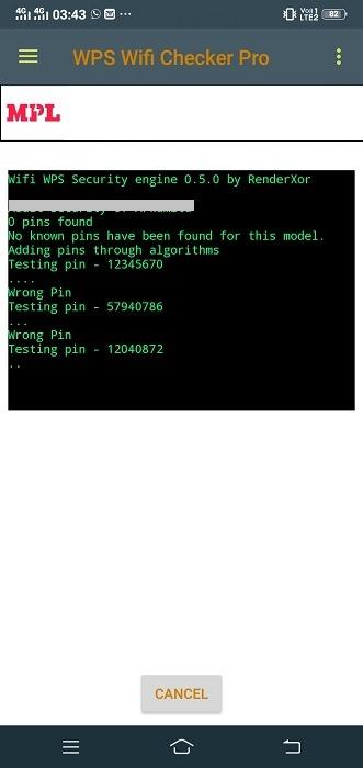 أفضل تطبيقات القرصنة Wps Wifi Checker Pro