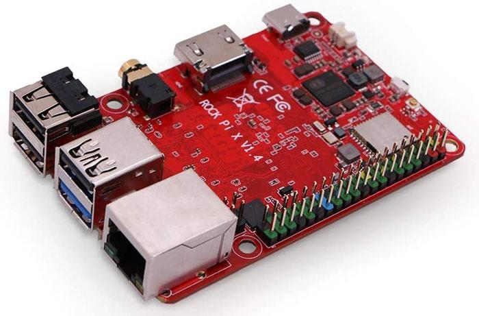 أفضل بدائل Raspberry Pi Rock Pi X Model B