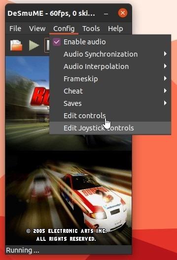 Ds Games Di Linux Dengan Desmume Edit Joystick