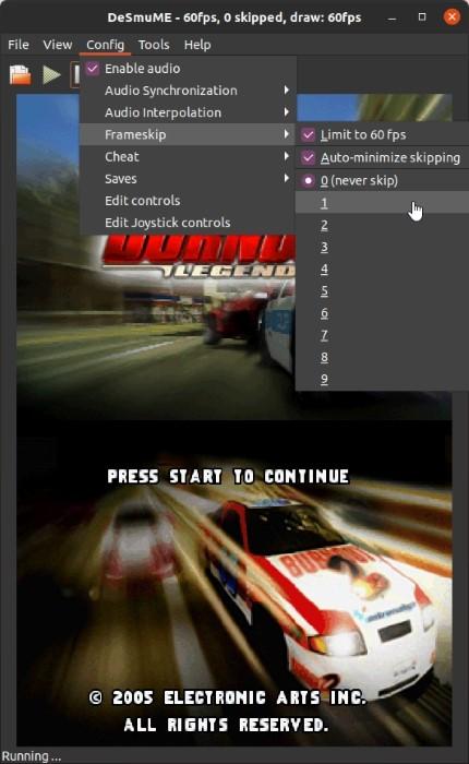 Ds Games Di Linux Dengan Desmume Frameskip