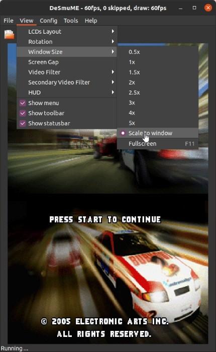 Ds Games Di Linux Dengan Skala Desmume Window Size Free