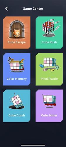 Pusat Game Super Cube