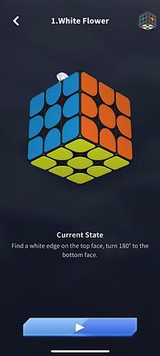 Bunga Putih Super Cube