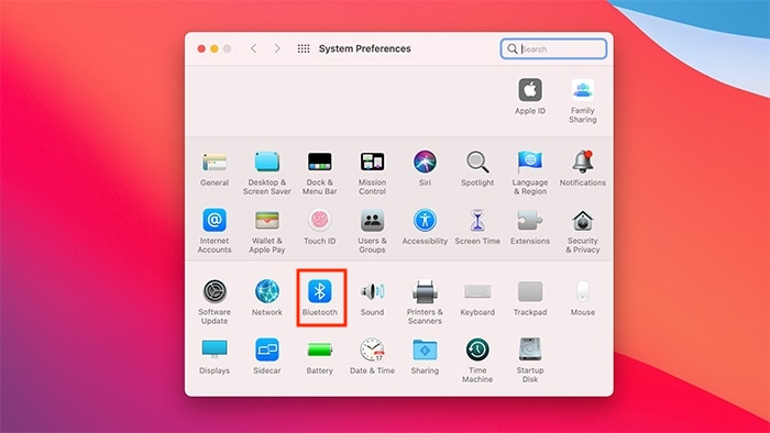 تفضيلات نظام التبديل التلقائي لـ Airpods لنظام Mac