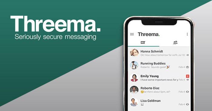 أفضل البدائل لبرنامج Messenger Threema