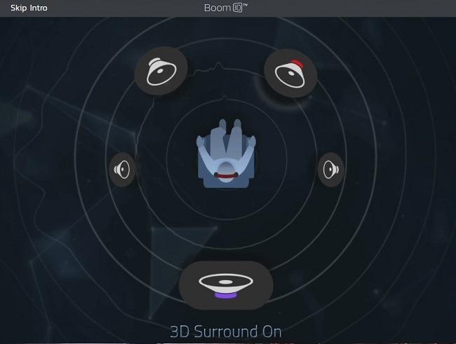 مراجعة سطح المكتب Boom 3D