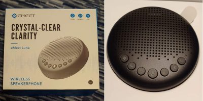Emeet Luna Wireless Speakerphone Review
